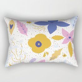 Sunday Florals Rectangular Pillow