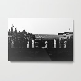 In a place as hazy as heaven, minds ascended and bodies went numb. Metal Print