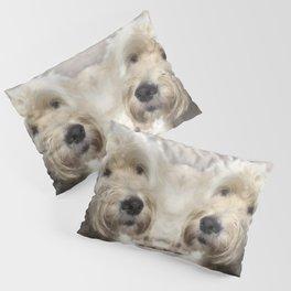 Dog Goldendoodle Golden Doodle Pillow Sham