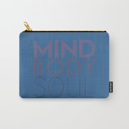 Mind, Body, Soul Carry-All Pouch