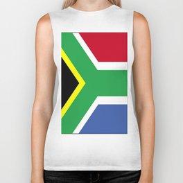 South Africa Flag (1994) Biker Tank