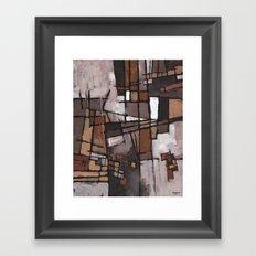 Lapse of Judgment Framed Art Print