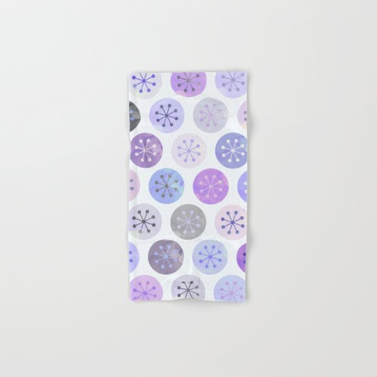Watercolor Lovely Pattern VI Hand & Bath Towel