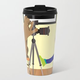 Girl behind the lens Travel Mug