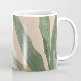 Abstract Art Tropical Leaves 4 Coffee Mug