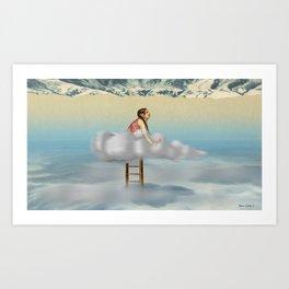 """""""Valparaiso"""" Illustration Denis Dubois Art Print"""