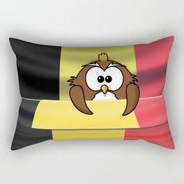 Belgian owl Rectangular Pillow
