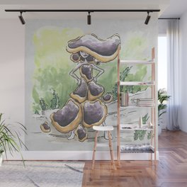 Empire of Mushrooms: Bulgaria inquinans Wall Mural