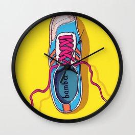 My lovely shoe Wall Clock