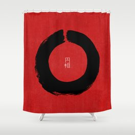 ENSO IN JAPAN Shower Curtain