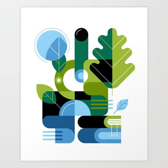 Biology Art Print