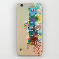colombia iPhone & iPod Skins featuring Colombia by LinaG