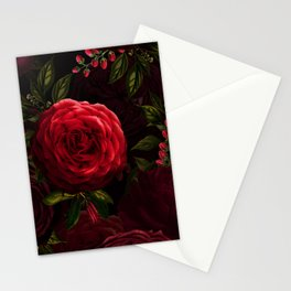 Vintage & Shabby Chic - Vintage & Shabby Chic - Mystical Night Roses Stationery Cards