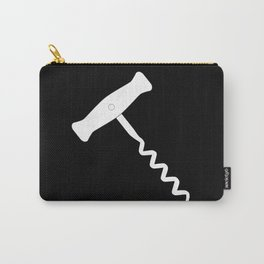 Corkscrew Over Black Carry-All Pouch