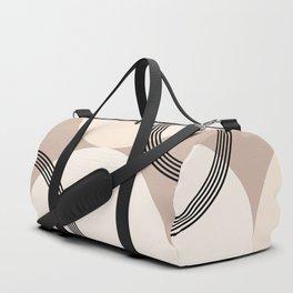 Minimal Abstract Circle Glam #1 #minimal #decor #art #society6 Duffle Bag