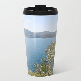 Oleander Againt The Aegean near Selimiye Travel Mug