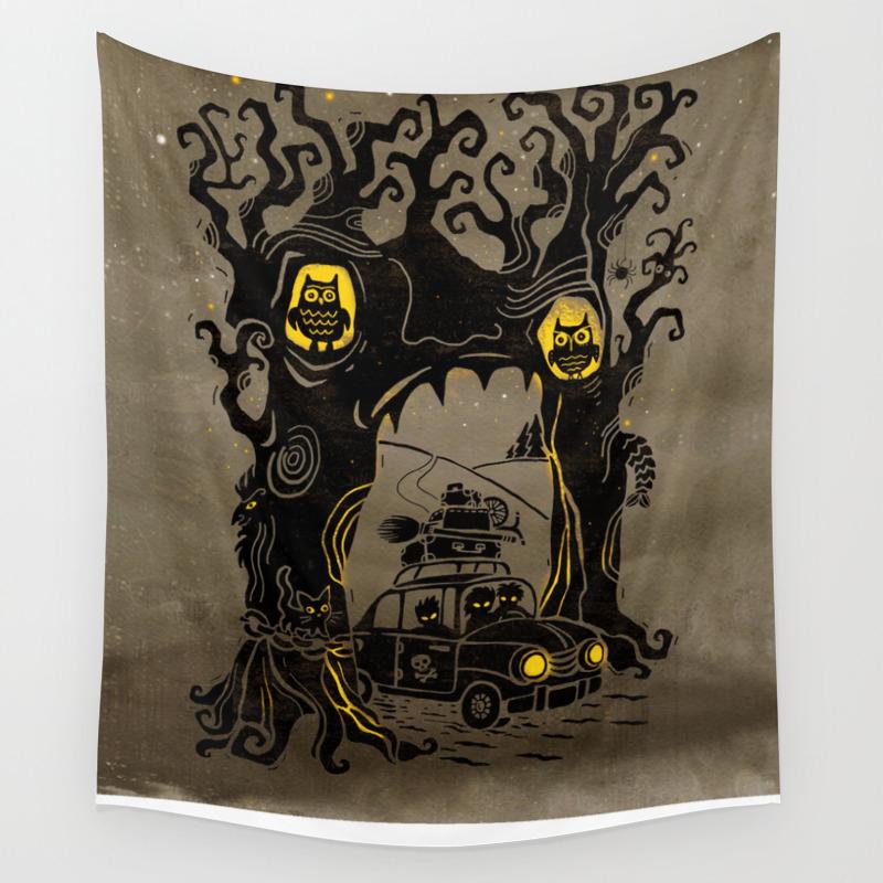Trip To Enchanted Forest Wall Tapestry By Babayagada Society6