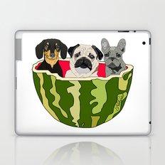 Watermelon Dogs Laptop & iPad Skin