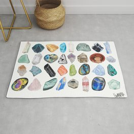 Illuminated Structure: Mineral Party 3 Rug