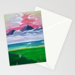 Look Towards the Hills Stationery Cards