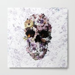 Upland Skull Metal Print