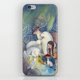 A Tale of the North iPhone Skin