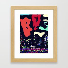 Abstract #12 Framed Art Print