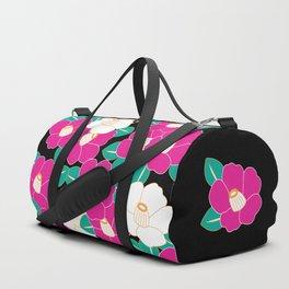 Shades of Tsubaki - Pink & Black Duffle Bag