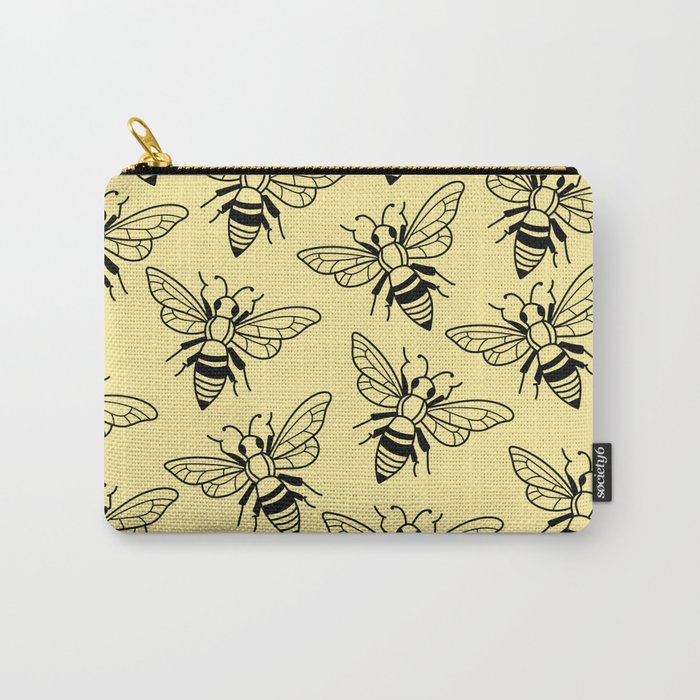 Honey, Bee Kind Carry-All Pouch