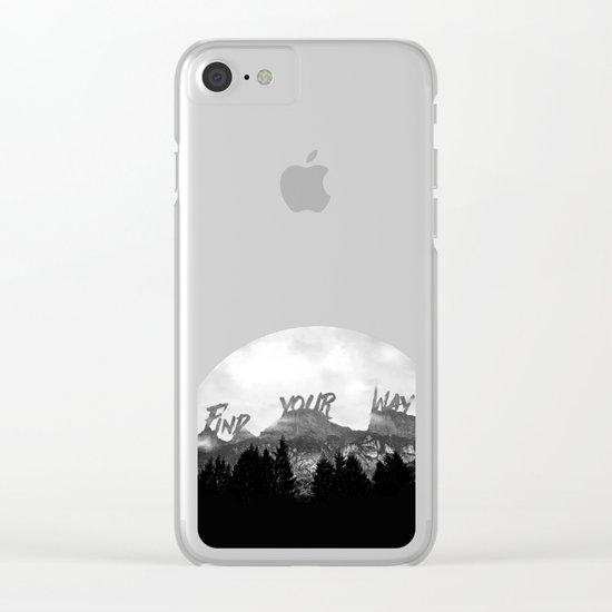 Wisdom of Nature Clear iPhone Case