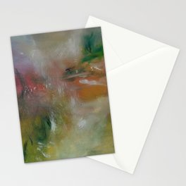 Multi-colours Monet´s Theme of Waterlilies Stationery Cards