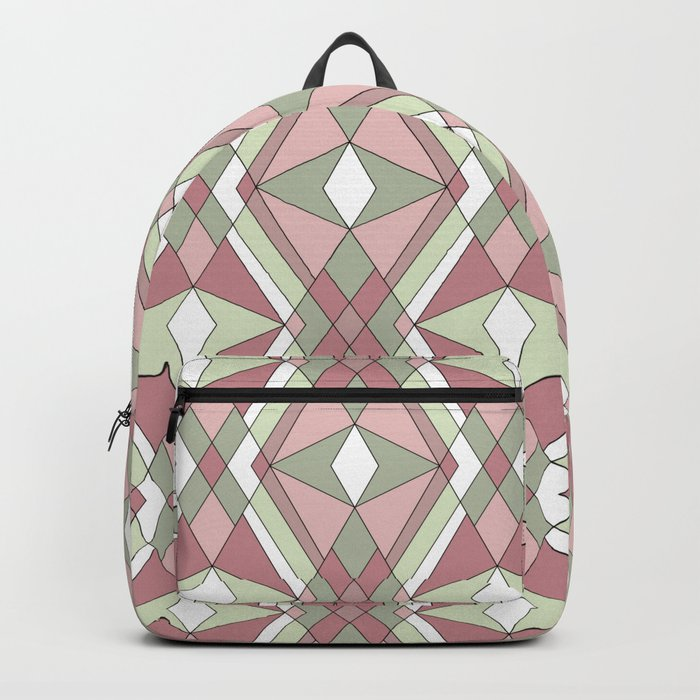 Abstraction. Pistachios. Backpack