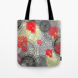 lace doilies abstract Tote Bag