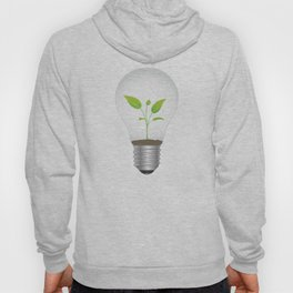 Light Bulb Plant Hoody