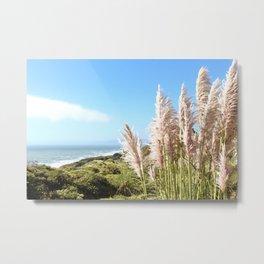Sea Side Cliffs Metal Print