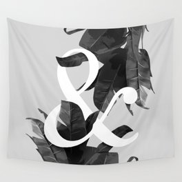 Botanical Ampersand Wall Tapestry