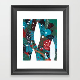 Russian Folk Tales - Tzar of the seas Framed Art Print