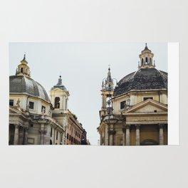 Piazza Del Popolo Rome Rug