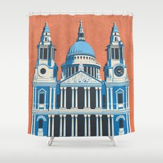 St. Paul's Cathedral Shower Curtain