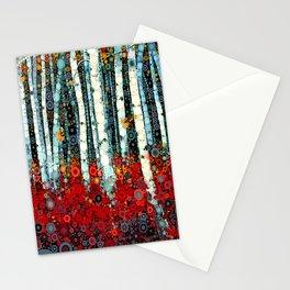:: Begonia Birch :: Stationery Cards