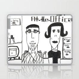 """Jonatan's """"At the Office"""" Laptop & iPad Skin"""
