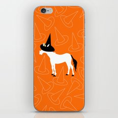 Witch Hat Unicorn iPhone & iPod Skin