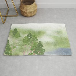 Miharu Shirahata | The day a cloud is born Rug