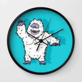 Abominable Wall Clock