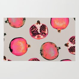 Pomegranate Pattern Rug