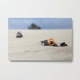 Towing Mission Metal Print