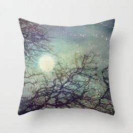 Winter Eve Throw Pillow