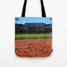 From Centerfield - Boston Fenway Park, Red Sox Tote Bag