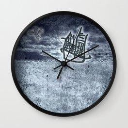 Fragata a la vista! Wall Clock