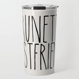 Brunette Best Friend Travel Mug